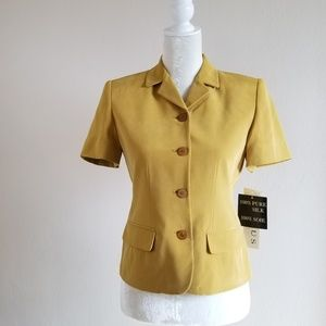 Vintage - Chaus Silk Suit Jacket